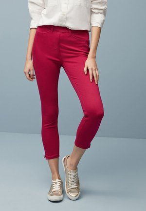 JERSEY CROPPED  - Leggings - Trousers - mottled pink