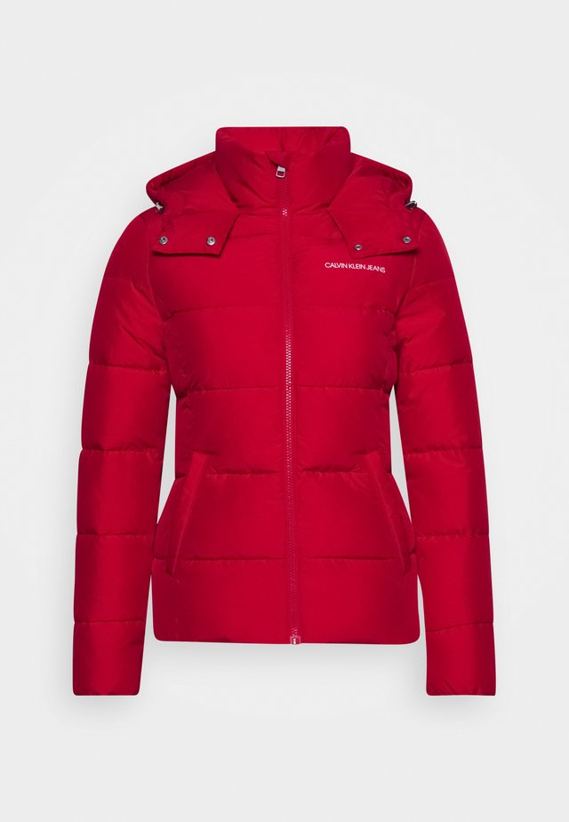 Winter jacket - red hot