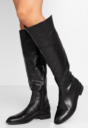 LOSIANE - Over-the-knee boots - schwarz evenly