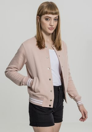 COLLEGE SWEAT - Leichte Jacke - lightrose