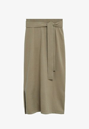 SOFA-A - Pencil skirt - beige