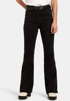 SUSAN FLARED DENIM - Flared Jeans - grey