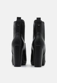 Buffalo - MICAIAH - High heeled ankle boots - black - 3