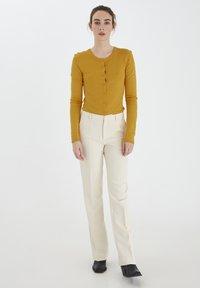 ICHI - MAFA O CA NOOS - Cardigan - mineral yellow - 1
