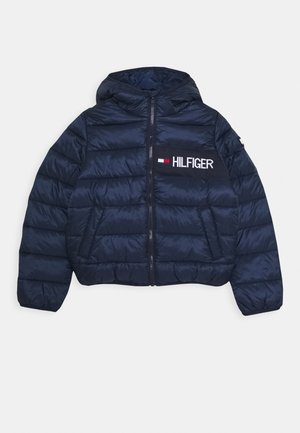 ESSENTIAL PADDED JACKET - Zimní bunda - dark blue