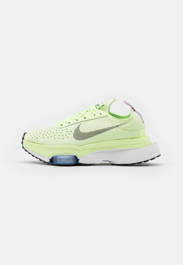 AIR ZOOM TYPE - Baskets basses - barely volt/black/chalk blue/summit white/beyond pink