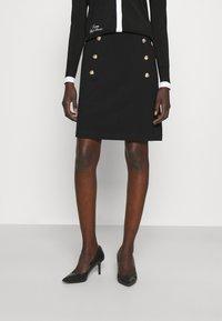 Lauren Ralph Lauren - GELLERT SKIRT - Pencil skirt - black - 0