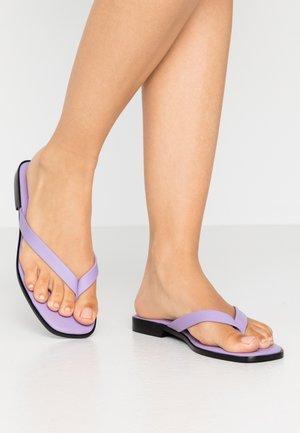 MAYIA - T-bar sandals - lilac/viola