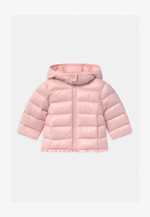 CHANNEL OUTERWEAR - Bunda z prachového peří - hint of pink