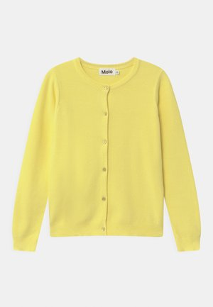 Cardigan - pale lemon