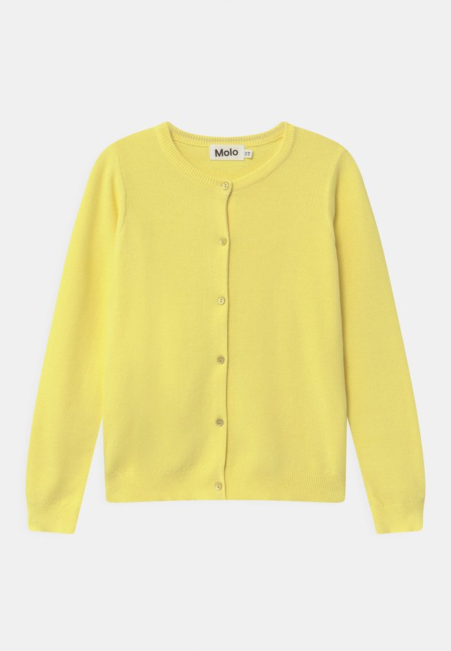GEORGINA - Vest - pale lemon