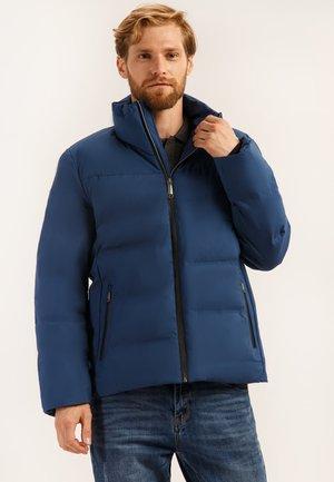 MIT BEQUEMER WATTIERUNG - Winter jacket - blue night
