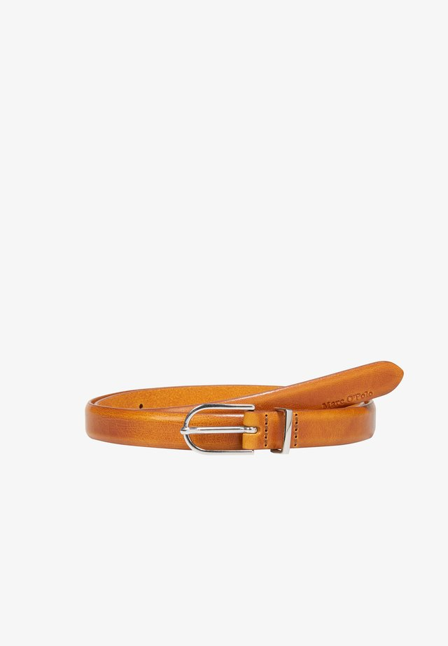 Belt - pumpkin orange