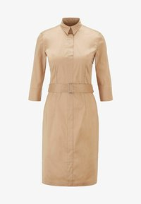 BOSS - DALIRI1 - Shirt dress - beige - 5