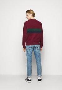 Polo Ralph Lauren - Sweatshirt - bordeaux/dark green/dark blue - 2