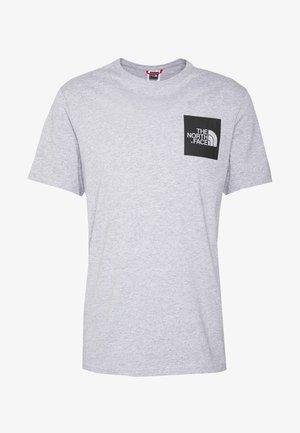 FINE TEE - Print T-shirt - heather grey