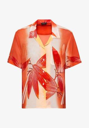 M-BENGI-PX - Button-down blouse - orange