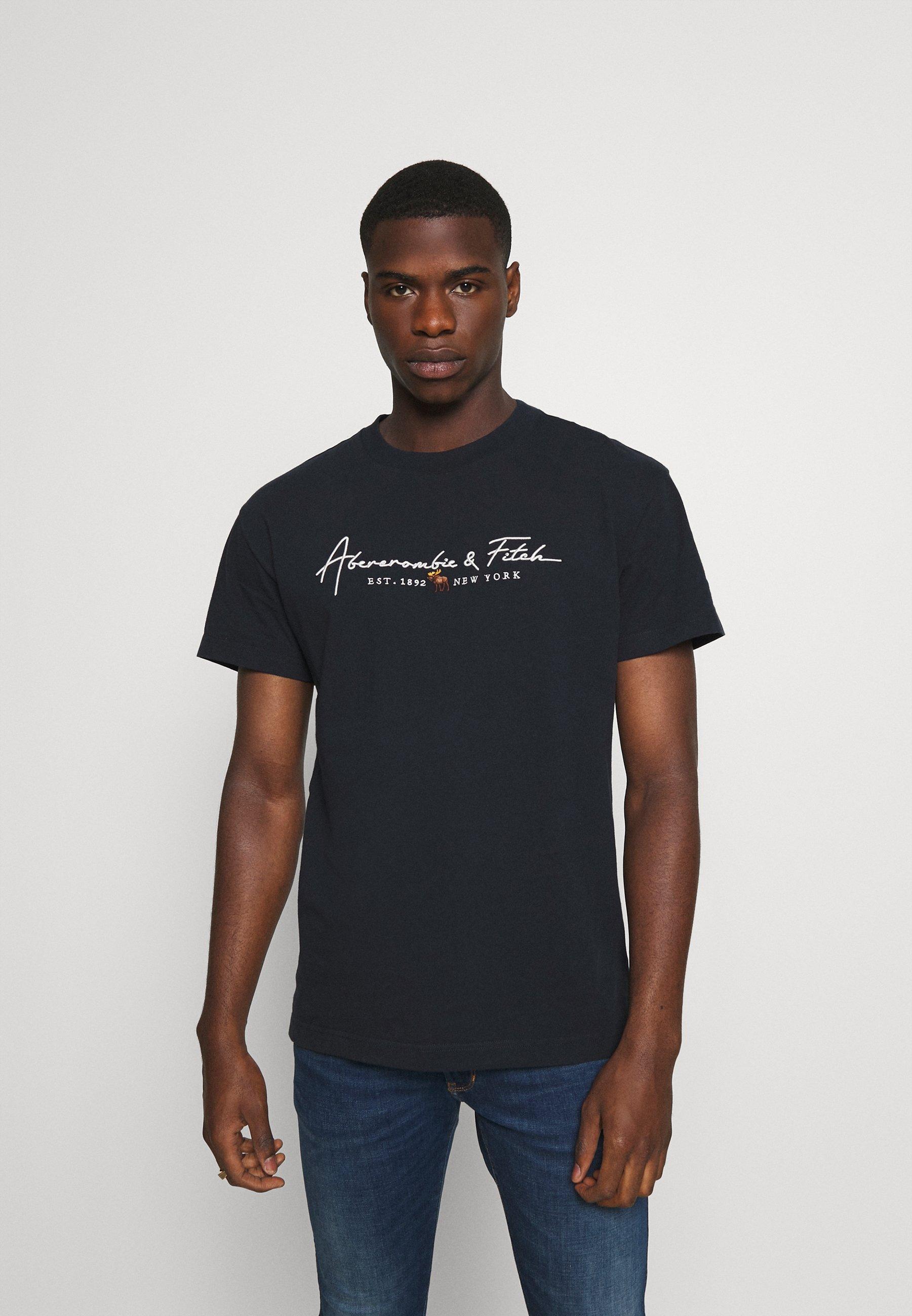 Men LOGO CON SCRIPT - Print T-shirt