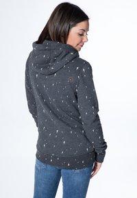 alife & kickin - YASMIN  - Zip-up hoodie - black - 2