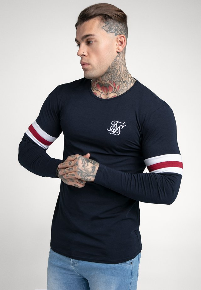 TOURNAMENT LONG SLEEVE - T-shirt à manches longues - dark blue