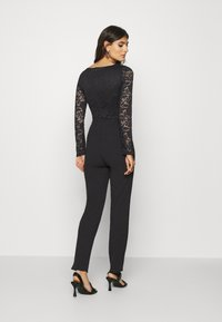 Anna Field - OCCASION - LONG SLEEVES LACE TOP JUMPSUIT - Combinaison - black - 2