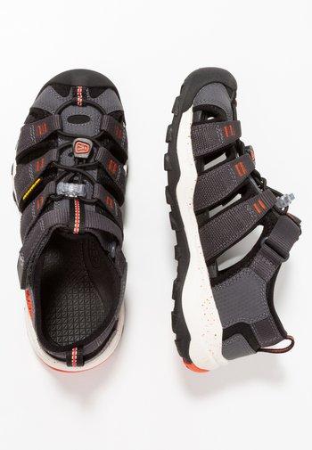 NEWPORT NEO H2 - Walking sandals - magnet/spicy orange