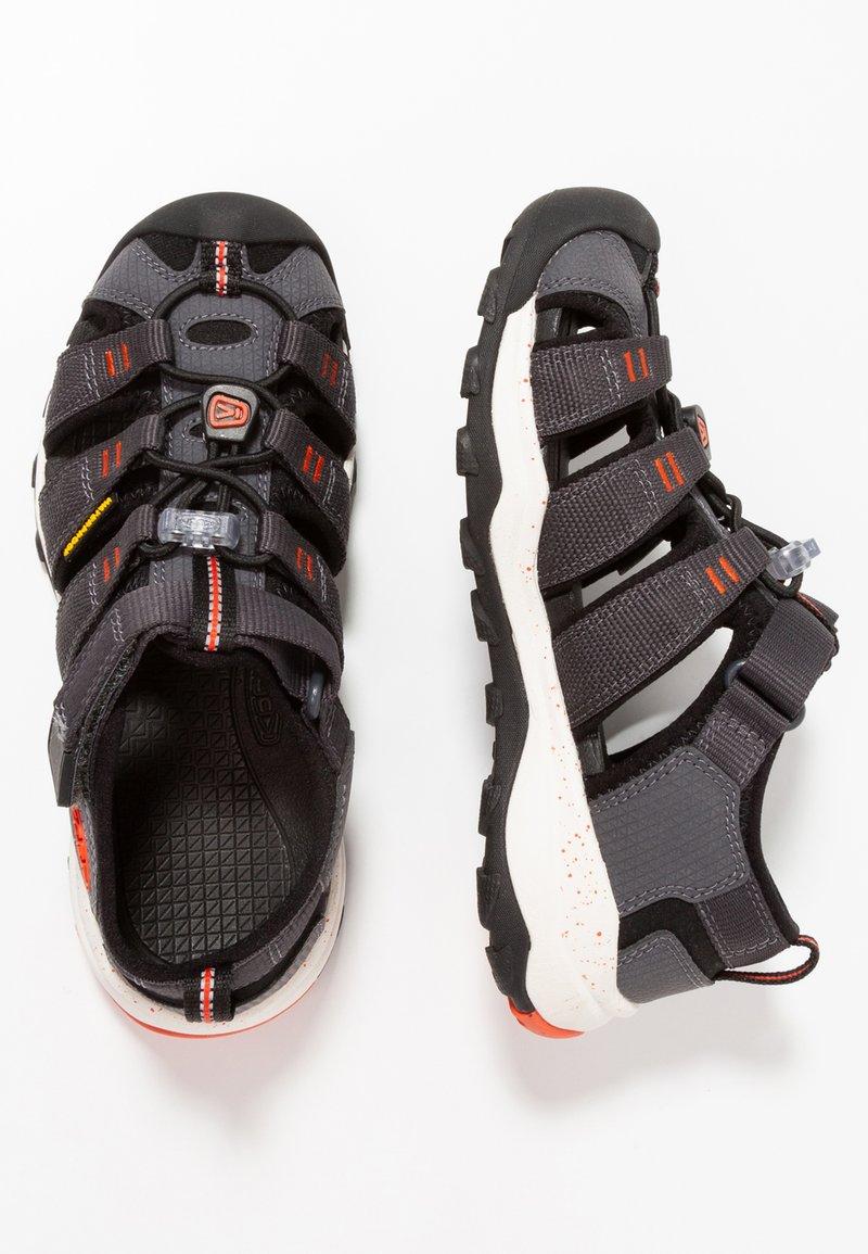 Keen - NEWPORT NEO H2 - Walking sandals - magnet/spicy orange