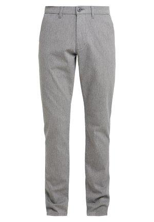 DOBBY - Chino kalhoty - grey