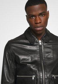 Tigha - DELMORE - Leather jacket - black - 3