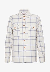 EDITED - VIANNA BLOUSE - Camisa - weiß/blau - 4