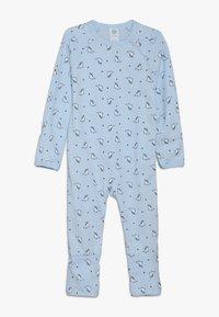 Sanetta - OVERALL BABY - Pyjamas - light blue - 0