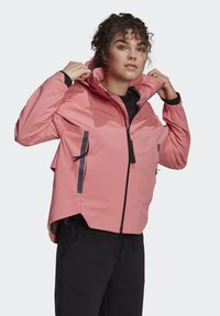 adidas Performance - Waterproof jacket - pink - 5