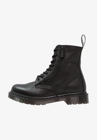 Dr. Martens - 1460 PASCAL ZIP 8 EYE BOOT - Lace-up ankle boots - black - 1