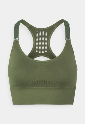 THE COMFORT STRAPPY - Sports bra - four leaf clover