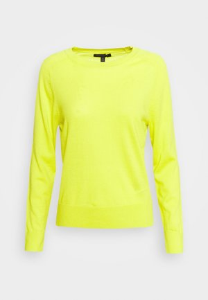 CREW SOLIDS - Jumper - lively chartreuse