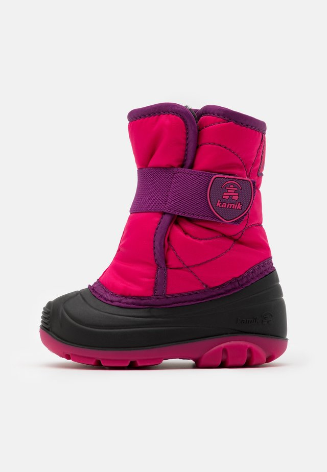 UNISEX - Winter boots - bright rose