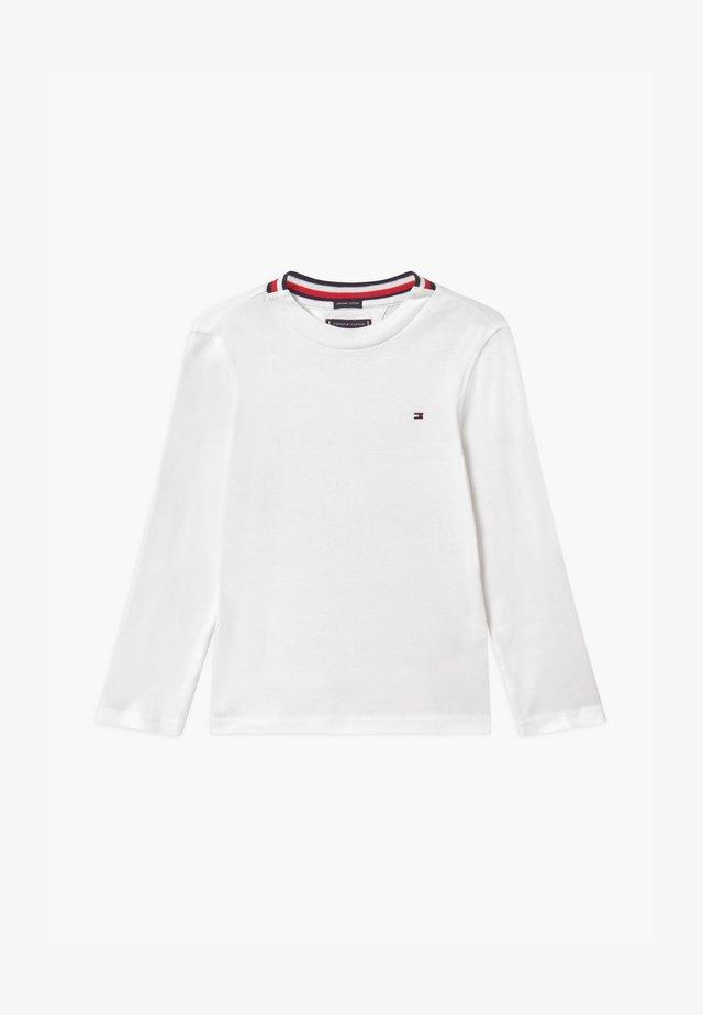 SOLID TEE - Maglietta a manica lunga - white