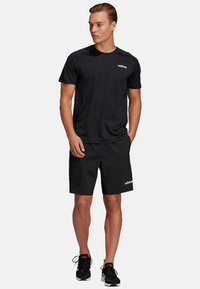 adidas Performance - TRAINING SHORTS - Pantalón corto de deporte - black - 1