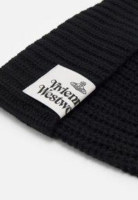Vivienne Westwood - CLASSIC BEANIE UNISEX - Beanie - black - 4