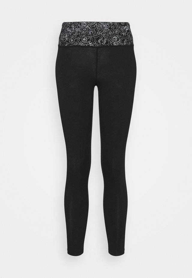 YOGA 7/8 LEGGINGS - 3/4 sportbroek - black