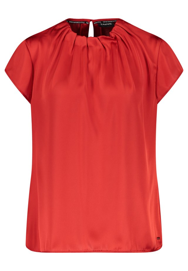 Blouse - carmine red