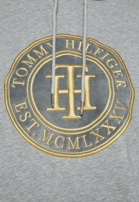 Tommy Hilfiger - HOODIE DRESS - Sukienka letnia - light grey heather - 5