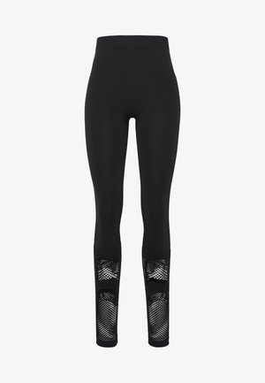 ONPADELYNN CIRCULAR TIGHTS  - Leggings - Trousers - black