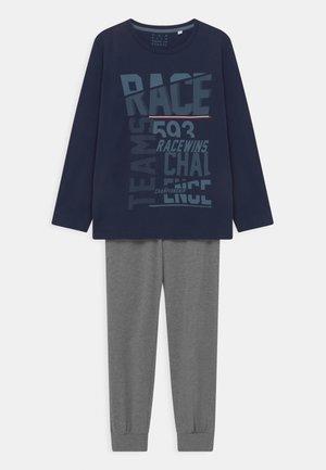 LONG - Pyjama set - navy