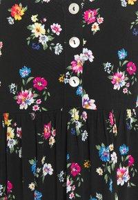 Even&Odd Petite - Kjole - black/multi-coloured - 2