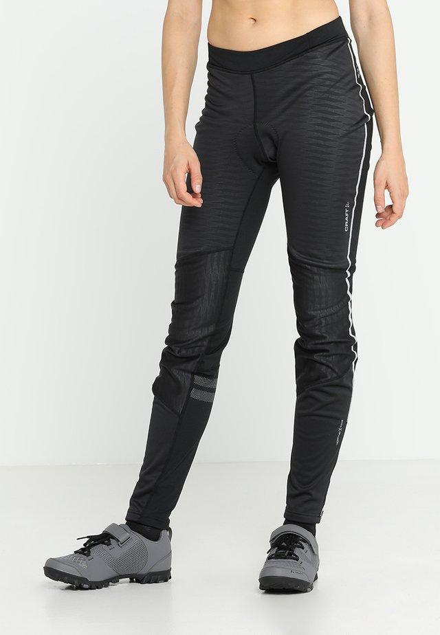 IDEAL WIND  - Collants - black/black