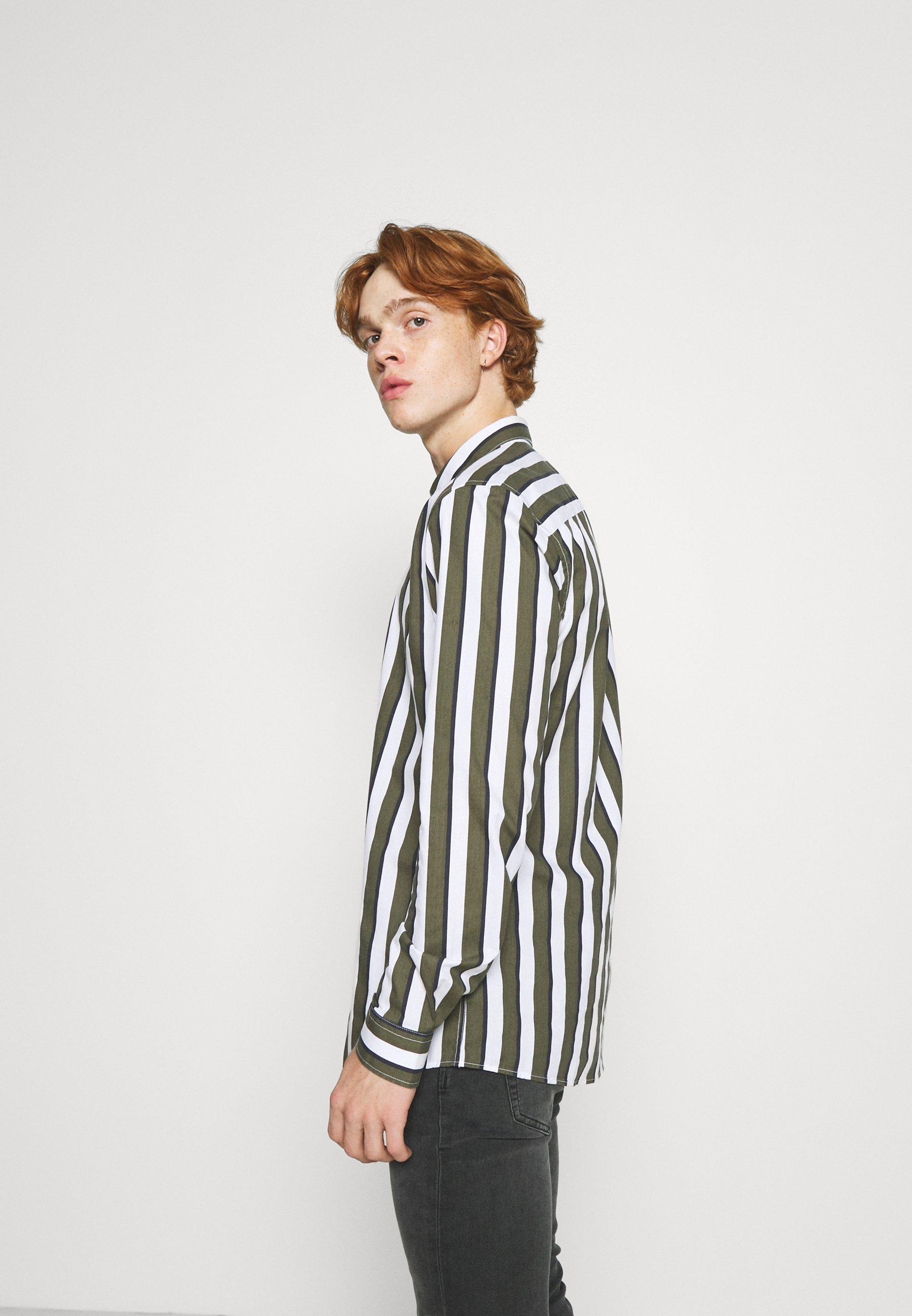 Uomo ONSSANE STRIPED SLIM FIT - Camicia