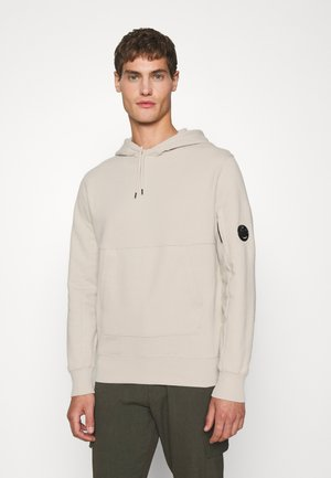 DIAGONAL RAISED HOODED - Sweatshirt - sandshell