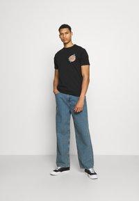 Santa Cruz - NO PATTERN DOT UNISEX - T-shirt imprimé - black - 1