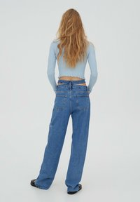 PULL&BEAR - Džíny Straight Fit - blue - 2